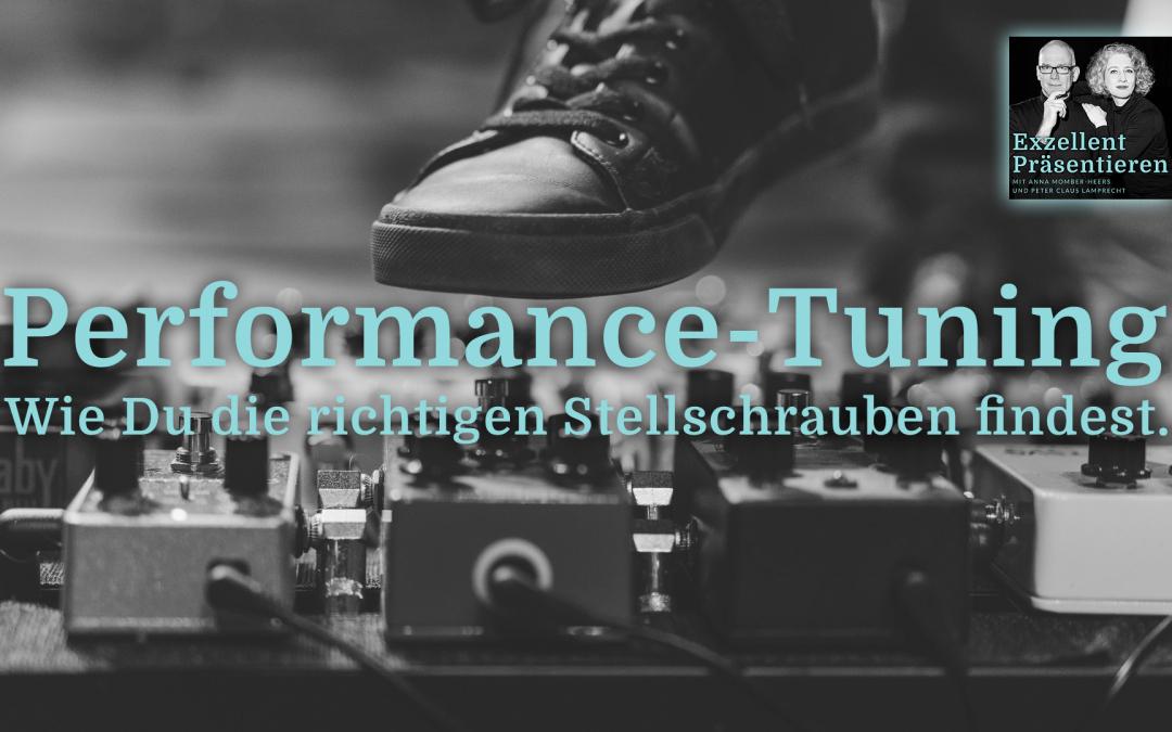 Performance-Tuning - Wie Du die richtigen Stellschrauben findest.