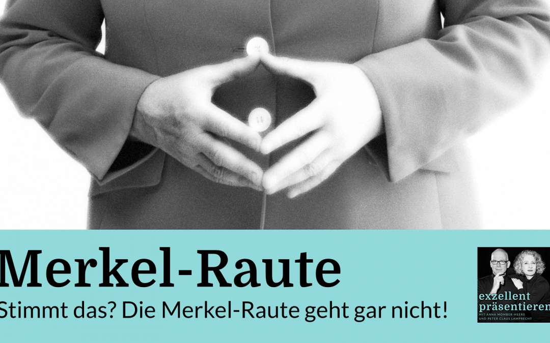 Stimmt das? Die Merkel-Raute geht gar nicht!