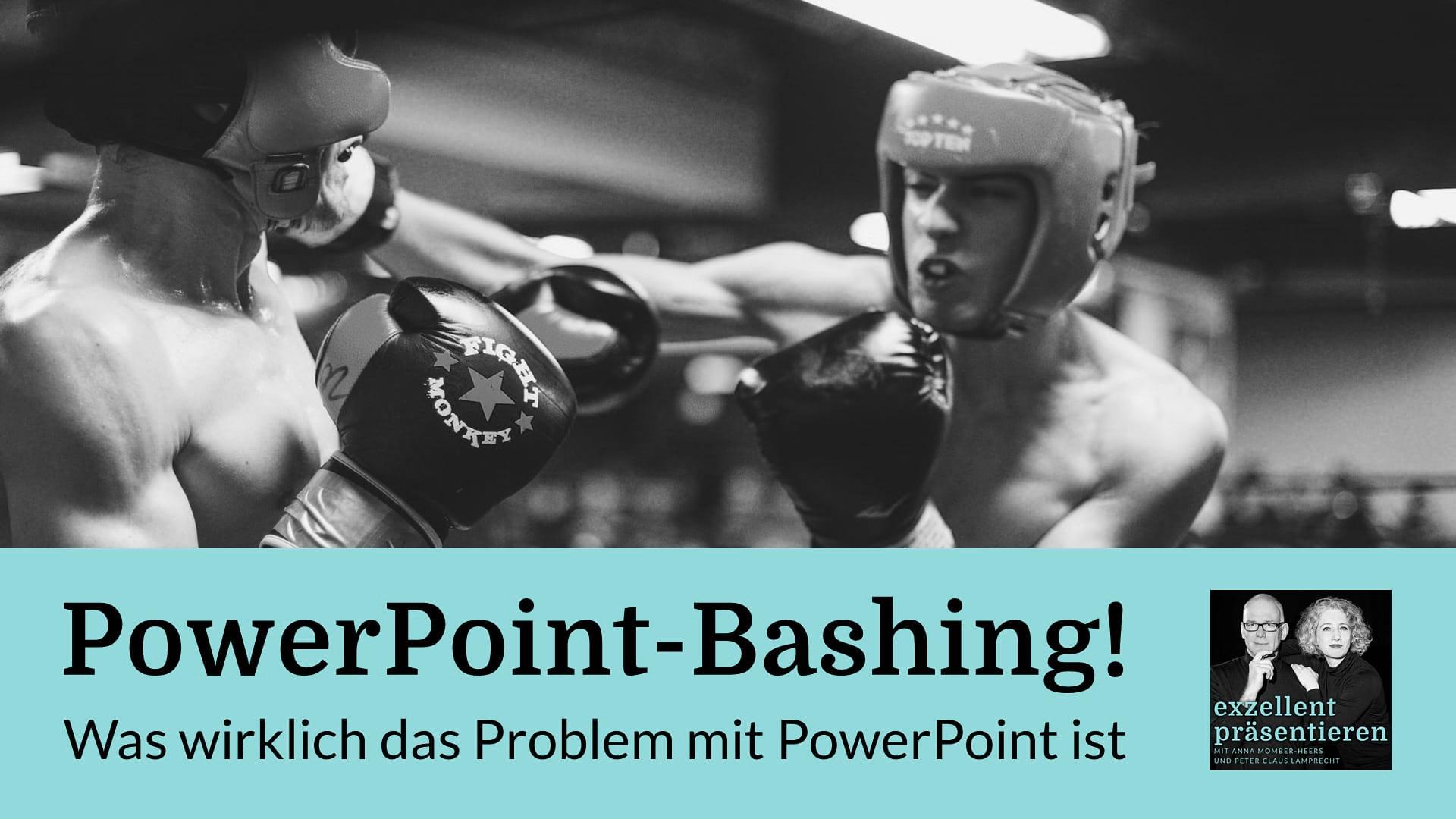 PowerPoint-Bashing! Was wirklich das Problem mit PowerPoint ist
