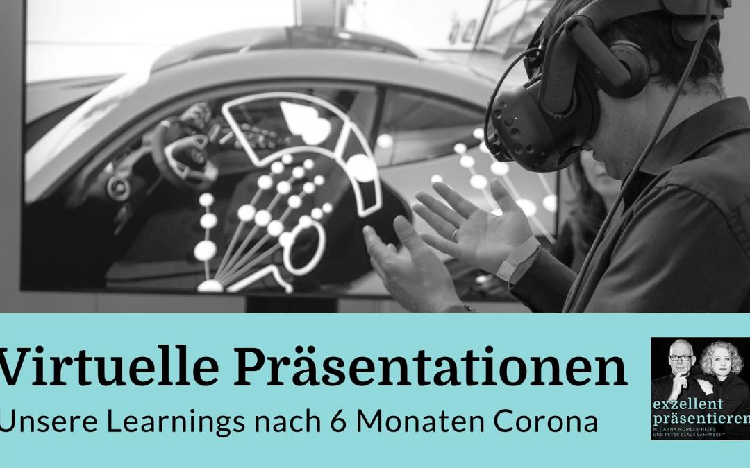Virtuelle Präsentationen: Unsere Learnings nach 6 Monaten Corona