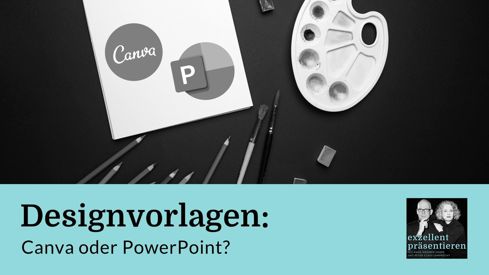 Designvorlagen: Canva oder PowerPoint?