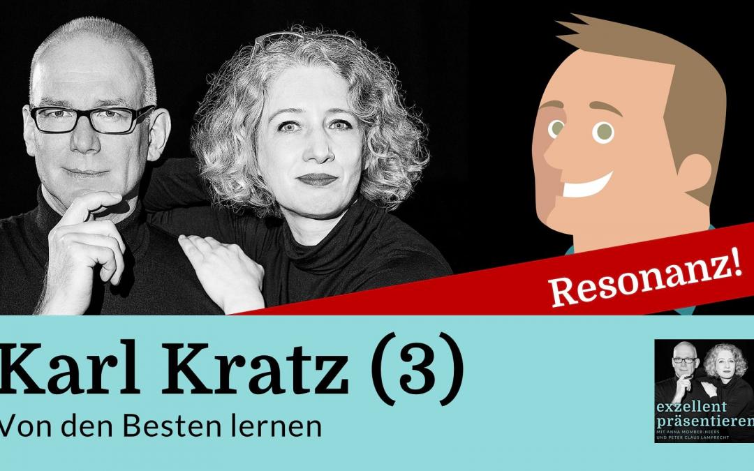 Von den Besten lernen: Karl Kratz (3)
