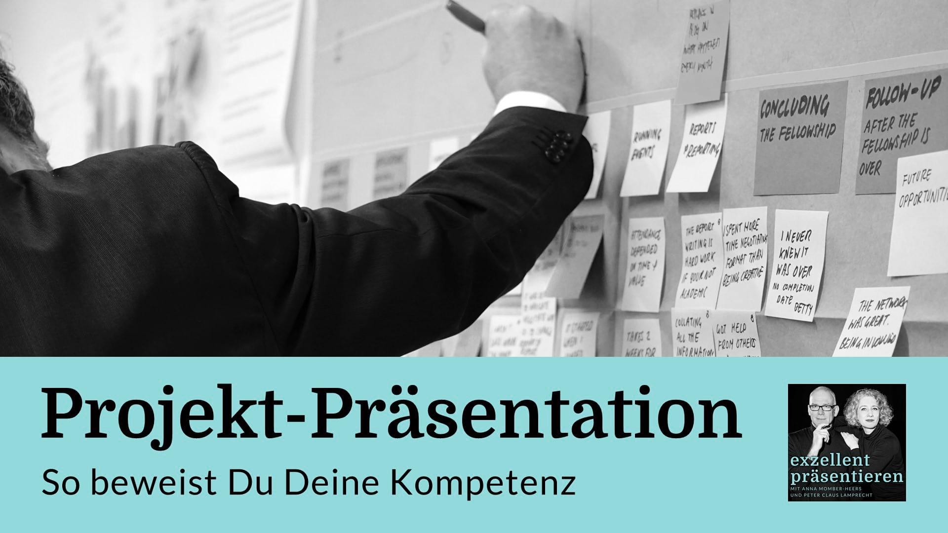 Projekt-Präsentation: So beweist Du Deine Kompetenz