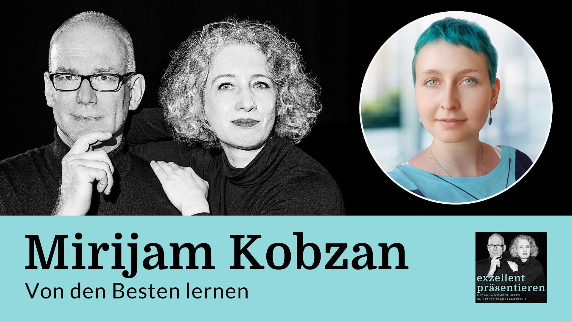 Von den Besten lernen: Mirijam Kobzan