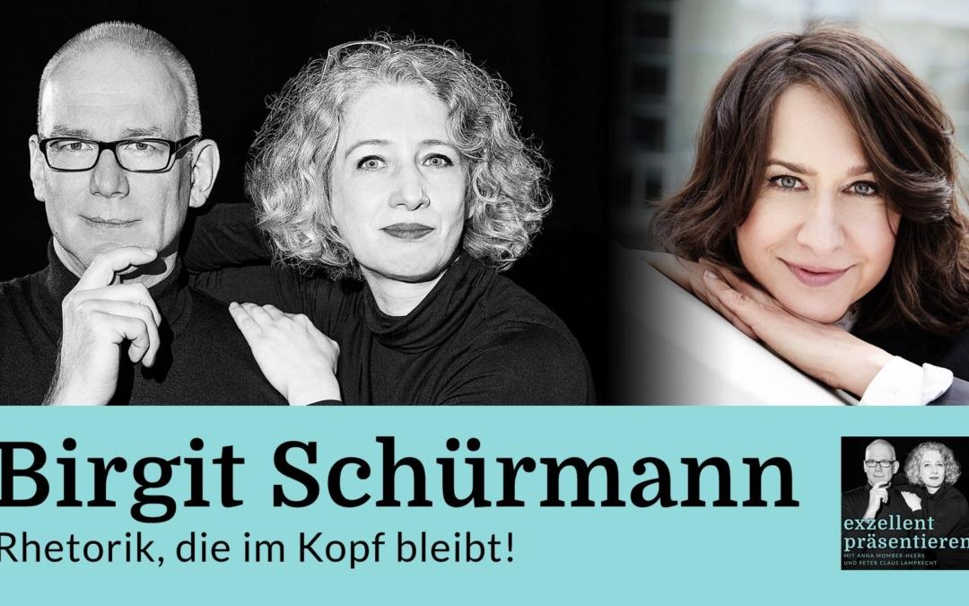 Birgit Schürmann: Rhetorik, die im Kopf bleibt!